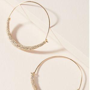 🔥NEW!🔥Anthropologie Lesley Hoop Earrings